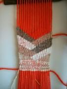 weaving progress
